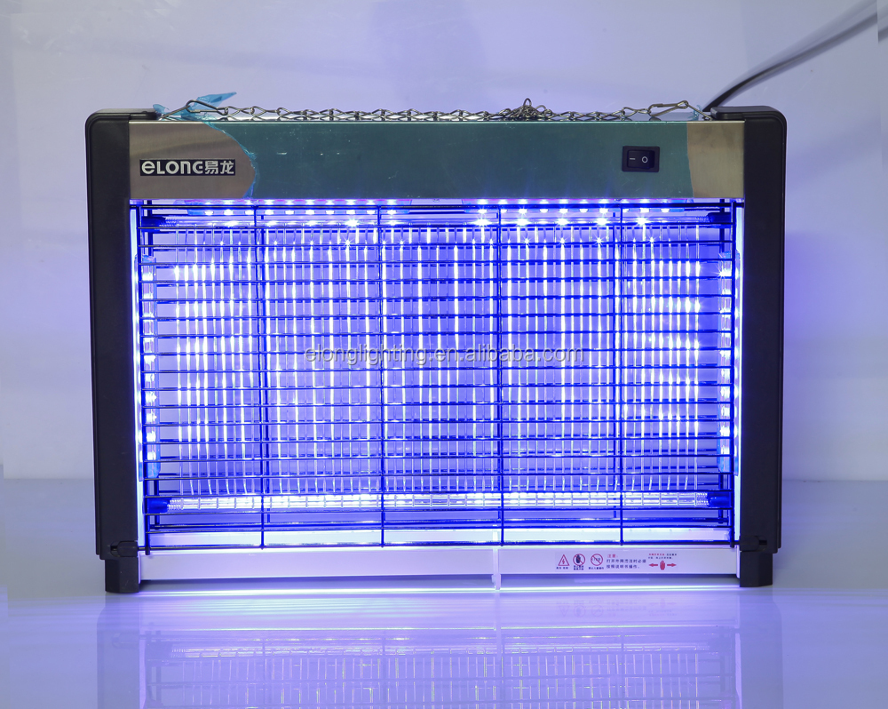 Fly Insect Killer Powder Pest Controller With Blue Light Tube ...
