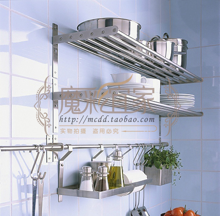 en acier inoxydable tag re murale grundtal mur cuisine tag re de la cuisine 80 cm ikea. Black Bedroom Furniture Sets. Home Design Ideas