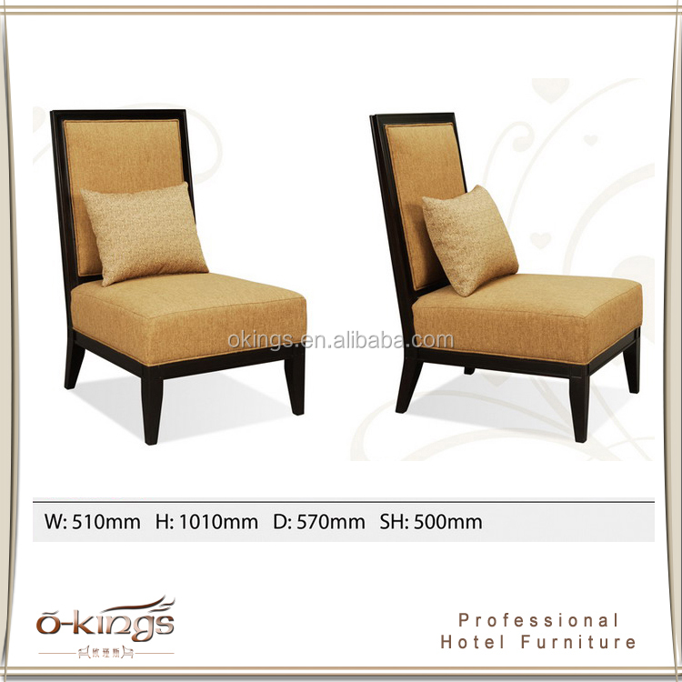 Customed designer restaurant chairs single sofa for heavy people
