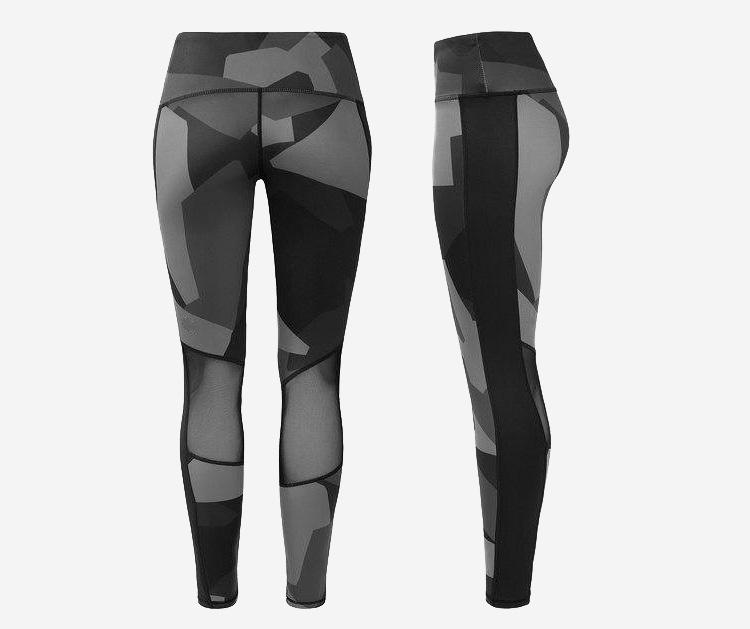 Sublimation sports women gym leggings yoga pants women