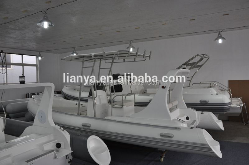 Liya 5 8m 10 People Rigid Hypalon Boat Inflatable T Top Boat For Sale - Buy  T Top Boat,Hypalon Boat Inflatable,Rigid Hypalon Boat Product on