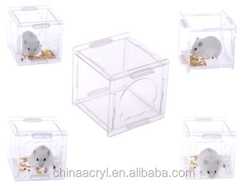 Happy Pet acrylic Hamster cage Gerbil Rat Mouse house