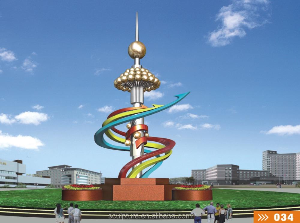 2016 neue Moderne Skulptur Hohe Qualität Mode Städtischen Statue ...