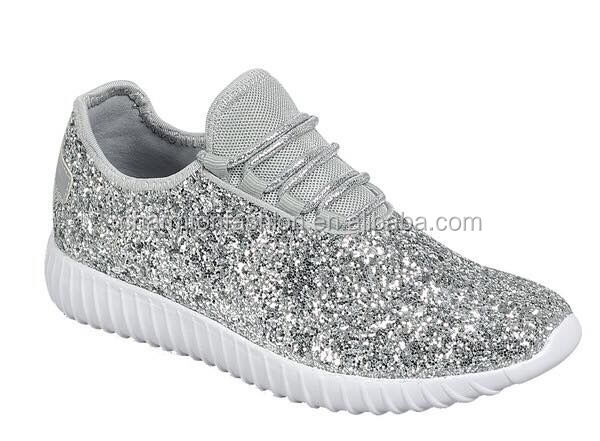 aada7fb220b0 2018 New Arrival Girls Glitter Tennis Shoes - Buy Glitter Tennis ...