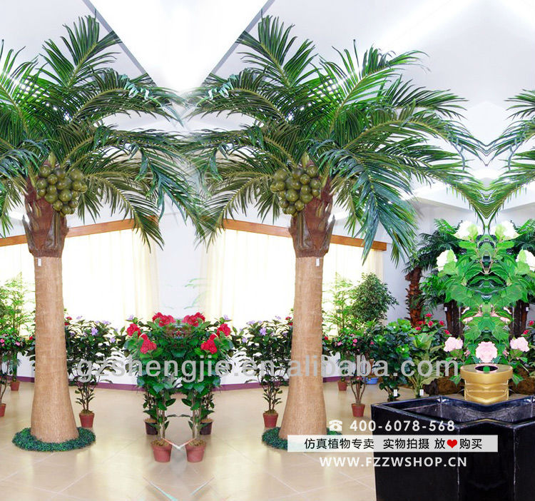 Making Artificial Trees Coconut Tree Plants And
