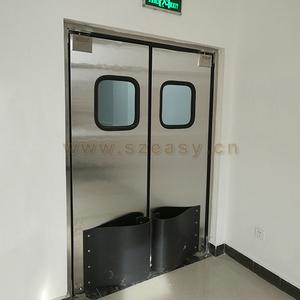 Custom commercial restaurant kitchen doors double action traffic counter  doors