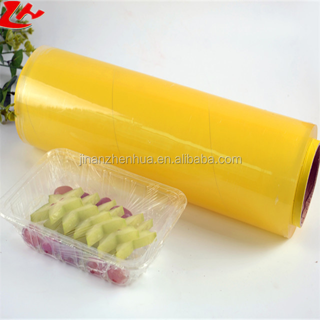 Kitchen Use Plastic Wrap PVC Cling Film For Food Wrap