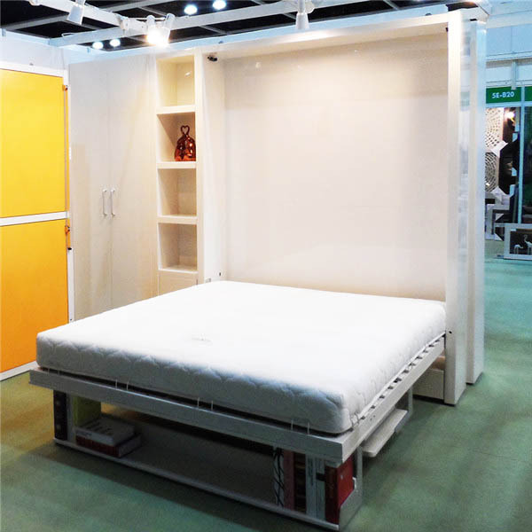 Chinese The Latest Design Bedroom Furniture Wooden Invisible Bed ...