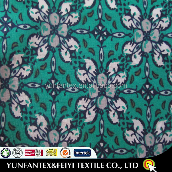 2016 wholesale soft handfeeling paisely pattern printing cotton fabrics
