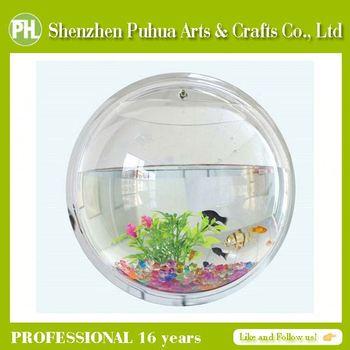 Exceptionnel Gift Items Acrylic Fake Fish Aquarium Office Table, Fish Aquarium