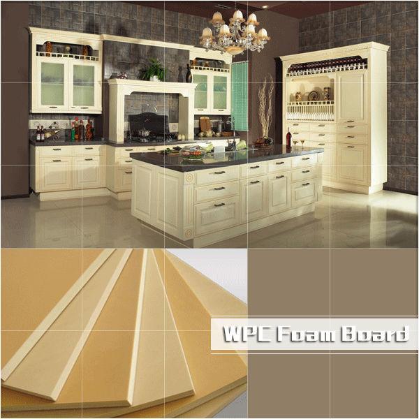Wpc Foam Board/wpc Furniture Board/waterproof Kitchen ...