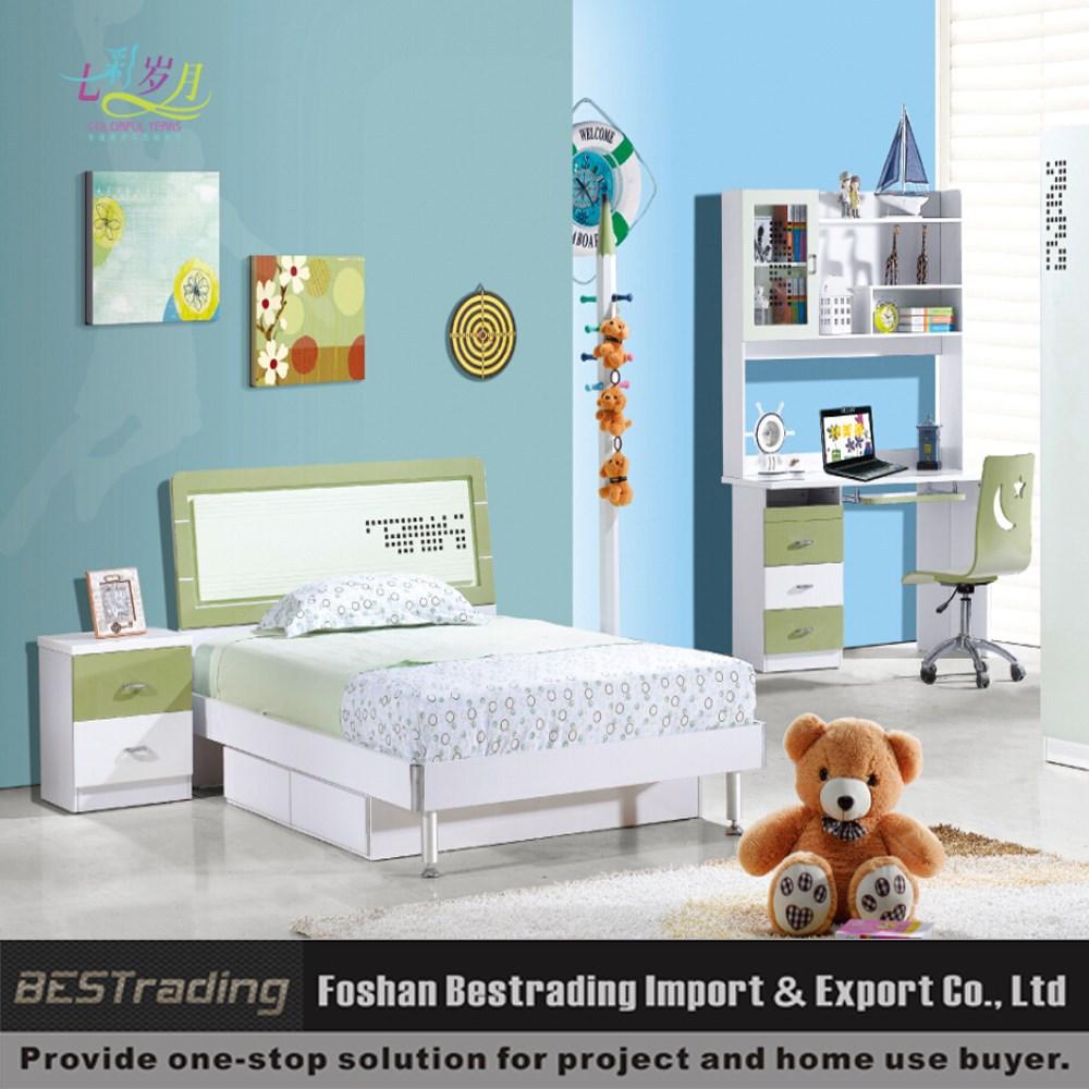 Mdf moderne kinderen bed slimme jongens slaapkamer meubilair ...