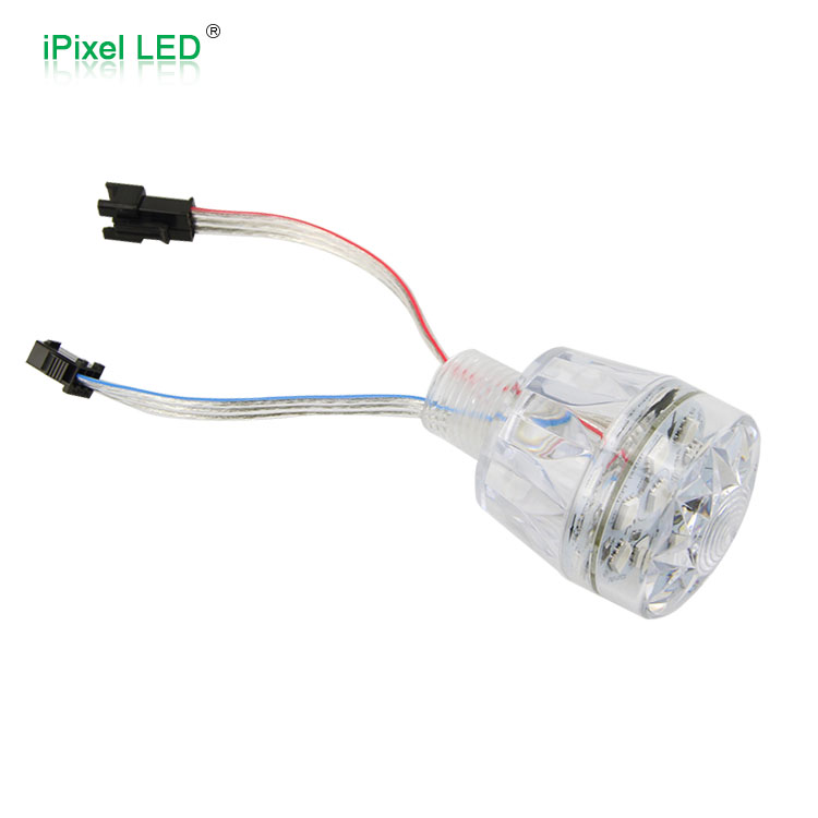 Waterproof IP65/IP67plastic light shell 12 pixel 40mm UCS1904 rgb led lamp