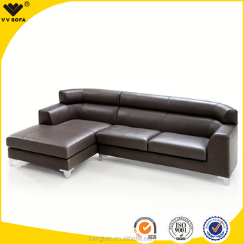 Pormotonal Sofa Set Design Living Room Elegant European Style L Shape Leather Corner