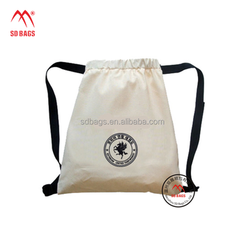 High quality wholesale Reusable durable various cotton muslin drawstring bag