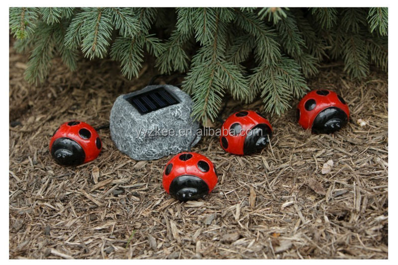 Lovely Ladybug Solar Garden Light, Ladybug Solar Garden Light Suppliers And  Manufacturers At Alibaba.com
