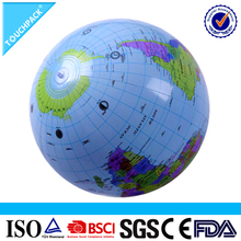 Customized Promotional PVC Plastic Earth Inflatable Beach Ball