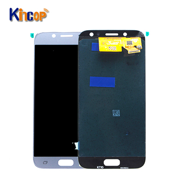 Atacado Super AMOLED para Samsung Galaxy J530 J530F J5 2017 display LCD touch screen display LCD sem moldura, j530 tela lcd