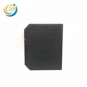 Honeycomb activated carbon filter sheets cloth air gas mask mesh smoke