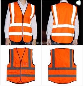 High Quality Plus Size Men Safety Multi- Functional Vest With High Reflection