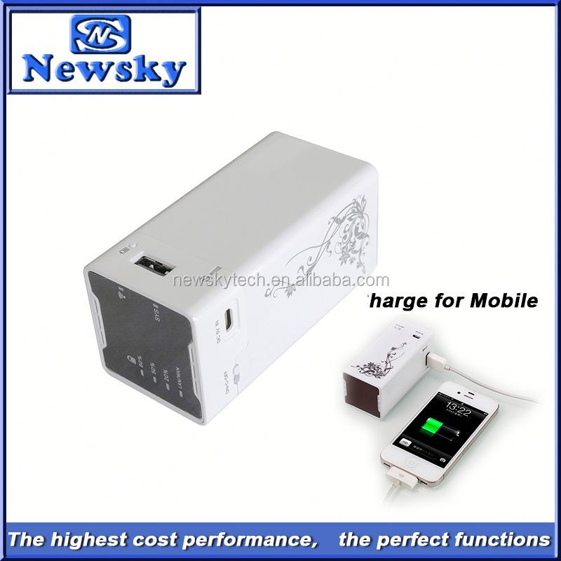 Unlocked Newsky adsl smallest usb 3g modem with power bank