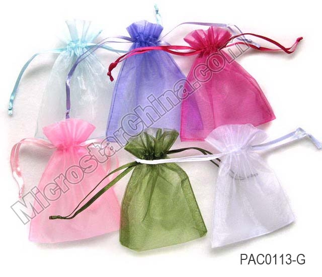 Colorful Organza Mesh Jewelry Bag - Buy Colorful Organza Mesh ...