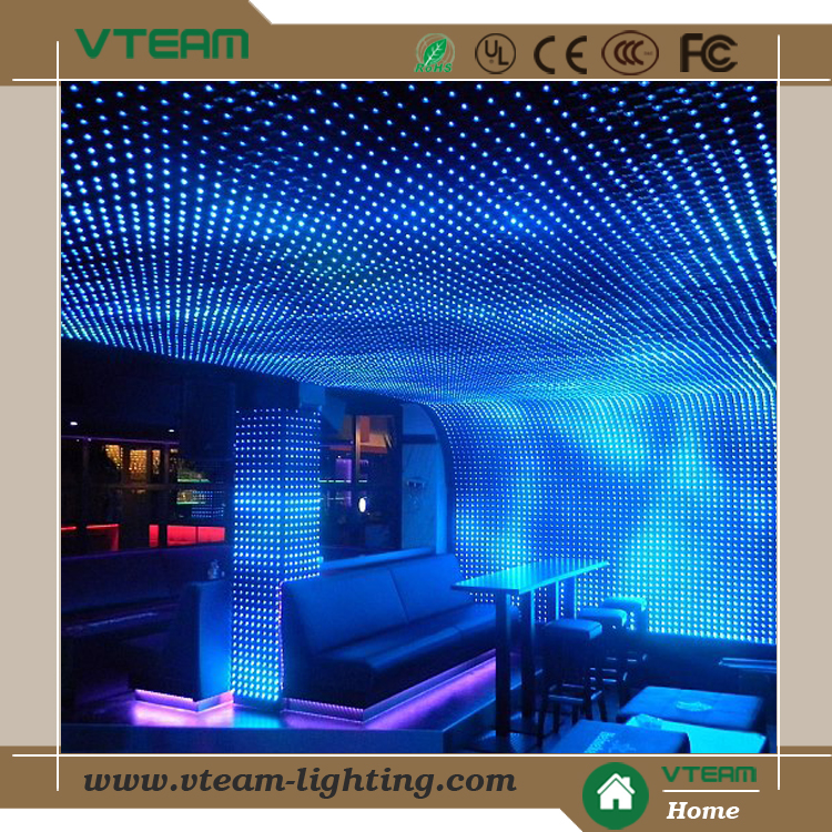 Vteam Round Mask Creative Flexible Led Curtain Screen Soft Led ...