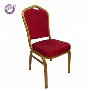 ZY00030 hot sale restaurant metal red banquet chair for event