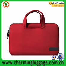 Wholesale neoprence cheap laptop tote bag computer sleeve