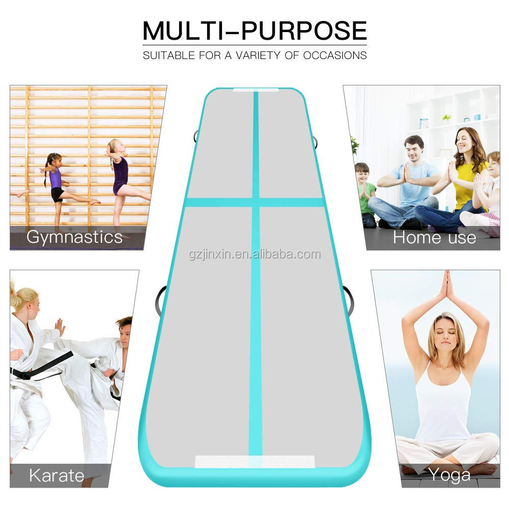 Wholesale 4m Inflatable Gymnastics Mat Air Track Tumbling Mats For Sale