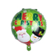Wholesale Hot 18 inch Santa & Snow Man & Christmas Deer Round Foil Balloons Classic Kids Toys Party Decoration Christmas Balloon