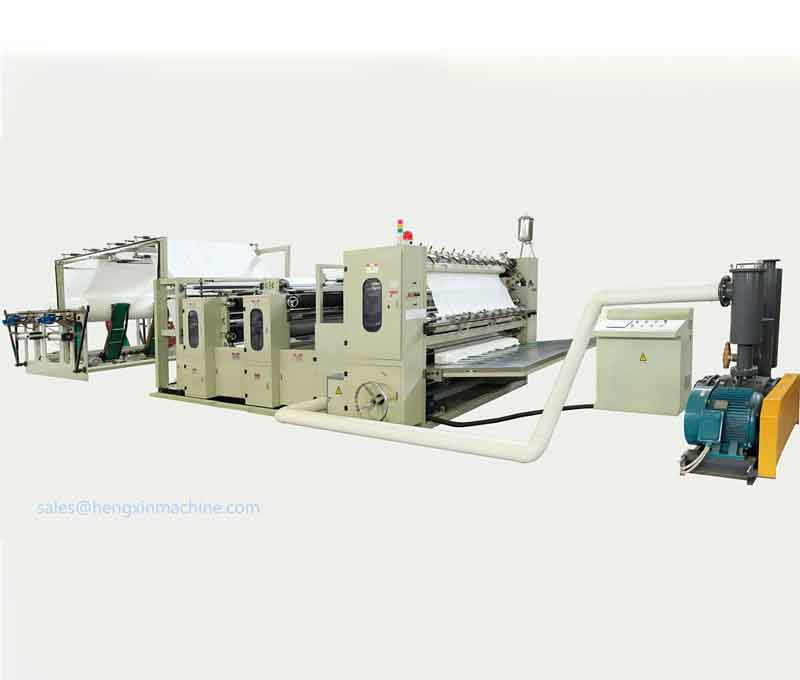 HX-V-200/8L V folding paper hand towel machine ,V fold tissue paper machine