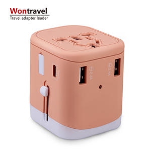 2019 Promotion gifts Universal smart charger Socket Travel Plug Adapter Multi USB Charger