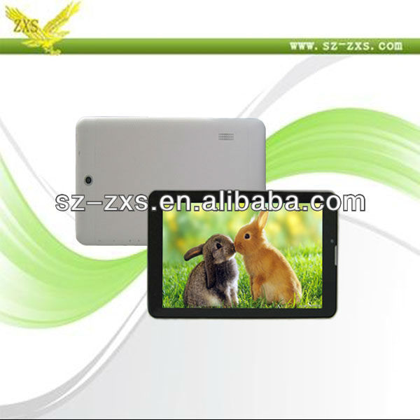 Zhixingsheng 2013 new products tablet android 7 inch/dual camera notebook phone call mini laptop/touch screen for kids tablet pc