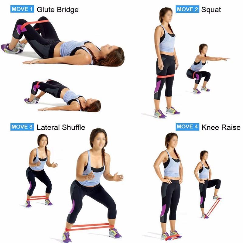 mini band workout exos pdf