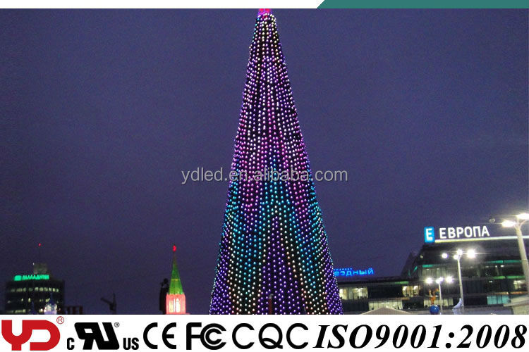 Hot Sale Weather Resistance RGB Led Lights for Outdoor Christmas Decorations provided by YD Company Directly