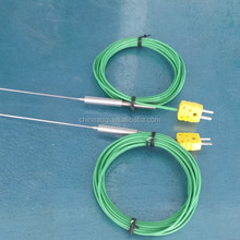 2520 SS temperature probe, K type thermocouple, with omega plug thermocouple probe