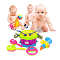 5pcs Kids Toys Roll Drum Musical Instruments Band Kit Children Toy Gift Set