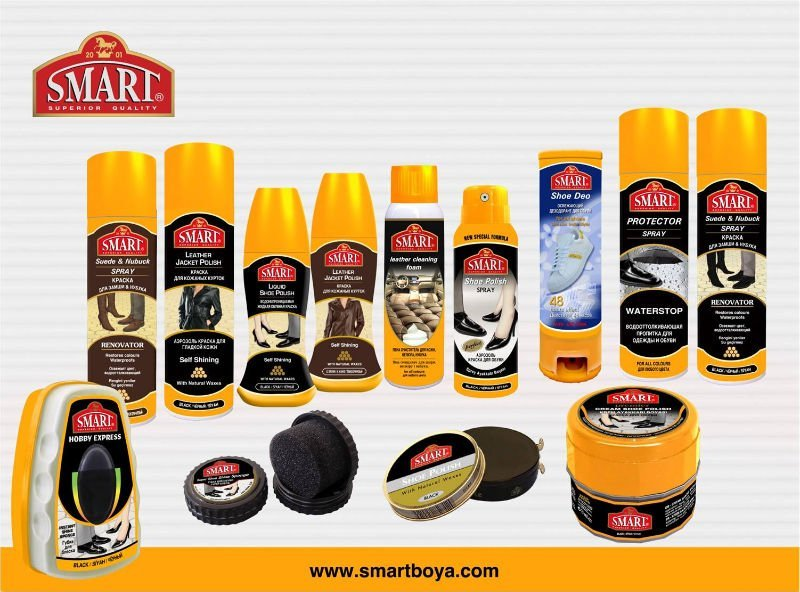 SMART Shoe Care Products