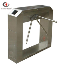 Face recognition ประตู access control security turnstile ขาตั้งกล้อง