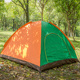 hot selling outdoor 4 man double layers tunnel camping tent