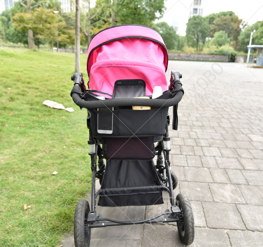 2018 Durable Large Storage Bag Baby Stroller Organizer