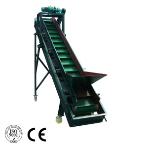 Gravel Sand Mobile Rubber Belt Conveyor Machine with Hopper