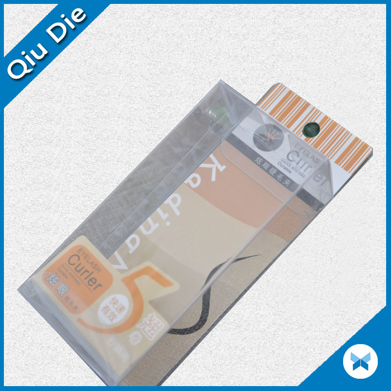 Customized PVC/PET/PP Transparent Plastic Box For Face Care Packaging