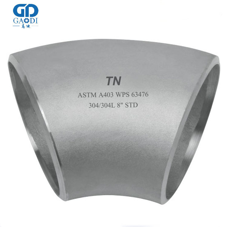 Welded Carbon Steel 135 Degree Elbow