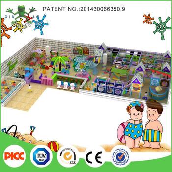 New design kindergarten playground equipment indoor buy for Kindergarten playground design