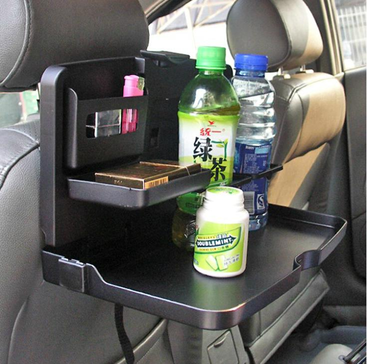 car dining table travel food holder and tray rear seat ebay. Black Bedroom Furniture Sets. Home Design Ideas