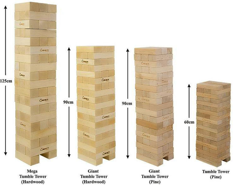 Classic Jenga Game Wooden Jenga Giant Jenga Hasbro Game