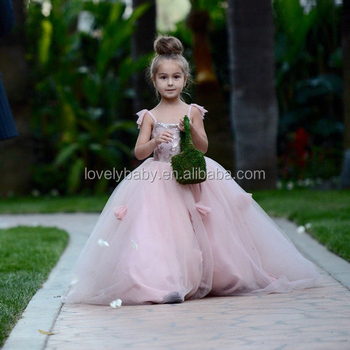 Cute floor length light pink flower girl dresses girls tulle dress cute floor length light pink flower girl dresses girls tulle dress mightylinksfo Choice Image