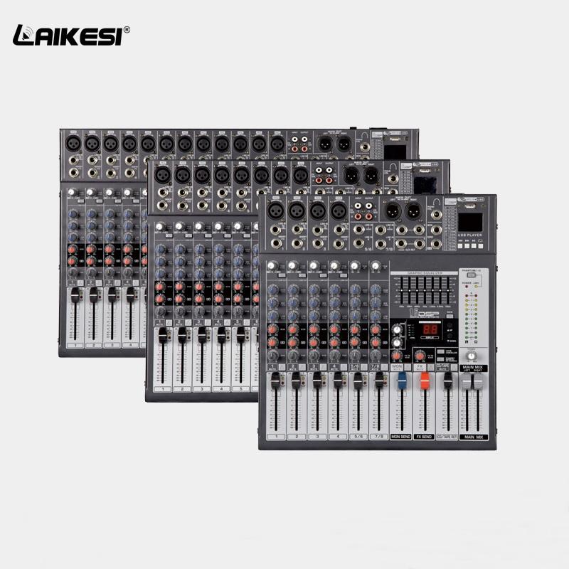 Laikesi Audio Dj Mixer Pioneer With Usb Mp3 Player Music Mixer Dj  Controller - Buy Dj Mixer Pioneer,Dj Mixer Controller,Soundcraft Audio  Mixer Product